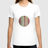 stripes T-shirts featuring Stripes by thinschi