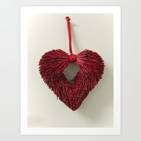 Loving Red Art Print