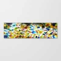 ceiling flowers Canvas Print