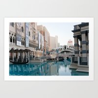 Venetian, Early Morning Art Print