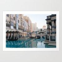 Venetian, Early Morning Art Print