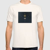 5. Stay With Me Mens Fitted Tee Natural SMALL