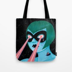 UFO tattoo Tote Bag