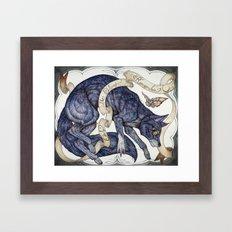 Only the Stars Remember Framed Art Print