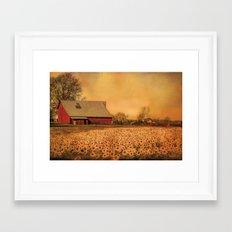 No Place Like Home Framed Art Print