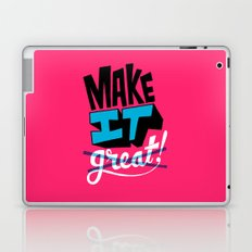 Make It Laptop & iPad Skin