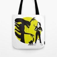 Alien Cartoon Style - Gr… Tote Bag