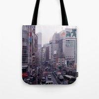 Shinjuku Skyline Tote Bag