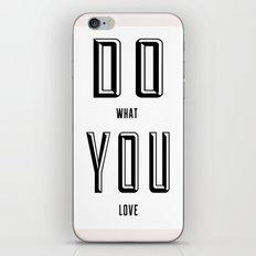 DO YOU iPhone & iPod Skin