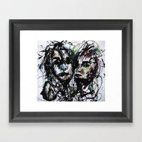 Friendly River Framed Art Print
