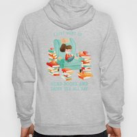 Read Books And Drink Tea Hoody