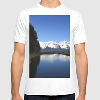 Tonsina Creek Mens Fitted Tee White SMALL