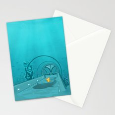 Gluttony - When the eye is bigger than the belly Stationery Cards