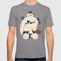 Kittens! Mens Fitted Tee Tri-Grey SMALL