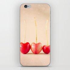 Cherry Heart Goodness iPhone & iPod Skin
