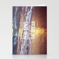 Micah 7:19 Stationery Cards