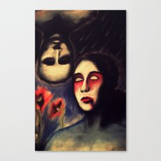 LOVE IS BLINDNESS Canvas Print