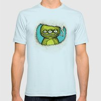3Eye Mens Fitted Tee Light Blue SMALL