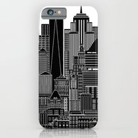 iPhone Cases featuring NYC  by Robert Farkas