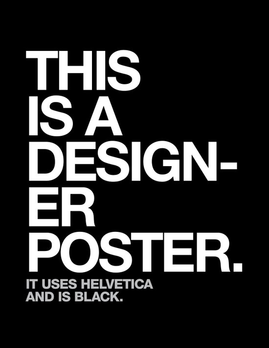 THIS IS A DESIGNER... Art Print
