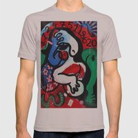 Dream Mens Fitted Tee Cinder SMALL
