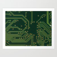 PCP Board Art Print