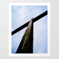 cross Art Prints featuring Cross  by Sierra Christie