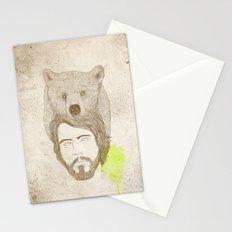 mr.bear-d Stationery Cards