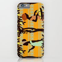 iPhone Cases featuring Lemon Harvest by Reika Hunt