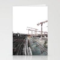 Paris D'avenir 6 Stationery Cards