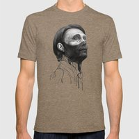 Hannibal Lecter Mens Fitted Tee Tri-Coffee SMALL
