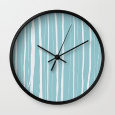 Vertical Living Salt Water Wall Clock