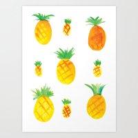 Pineapple Goodness Art Print