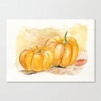 Mini Pumpkins II Canvas Print