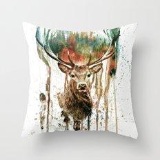 DEER IV Throw Pillow