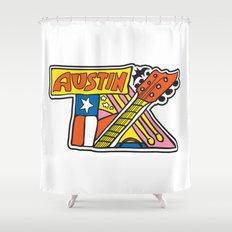 Austin TX Shower Curtain