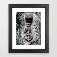 Anchor and Snake  Framed Art Print