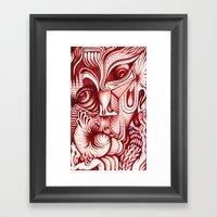 Sharp Senses & Soft Sens… Framed Art Print