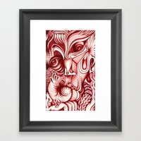 Sharp Senses & Soft Sensibilities Framed Art Print
