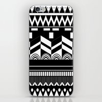 Graphic_Black&white #2 iPhone & iPod Skin
