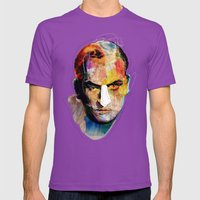 White nose Mens Fitted Tee Ultraviolet SMALL
