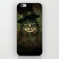 The other cat in the hat iPhone & iPod Skin