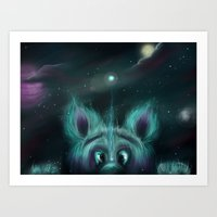 The Universe Creature Art Print