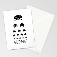 Gamers eye test Stationery Cards