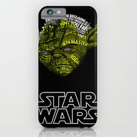 iPhone Cases featuring Yoda by Stormega