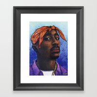 Tupac Shakur, 2Pac, Maka… Framed Art Print