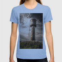 Closer to the sky 2 Womens Fitted Tee Athletic Blue SMALL
