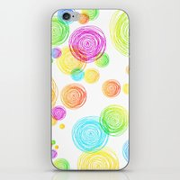 I'm Seeing Circles iPhone & iPod Skin