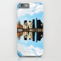 new york iPhone & iPod Cases featuring New York New York by haroulita