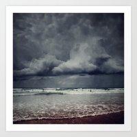Elemental - Surf And Clo… Art Print